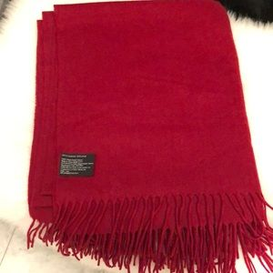 Cashmere burgundy 60x 50 inches throw